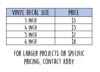 vinyl pricing web